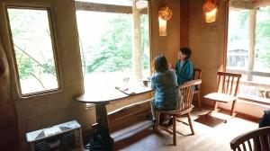 森の家のカフェ